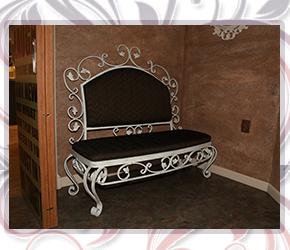 Милен Неделчев ковано желязо изделия от ковано желязо мебели от ковано желязо